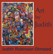 thumbnail image book cover for Art by Judith, a memoir of her art work