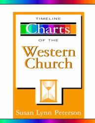 image of the Timeline Charts of the Western Church cover